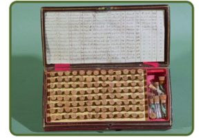 Homeopathische kit of huisapotheek