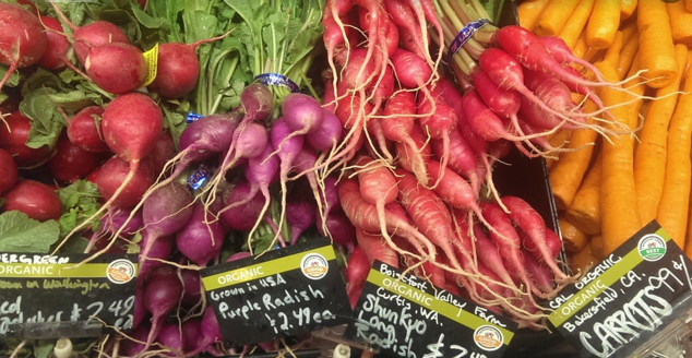 biologische groenten