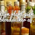 Azijn vlakt piek bloedsuikerspiegel af